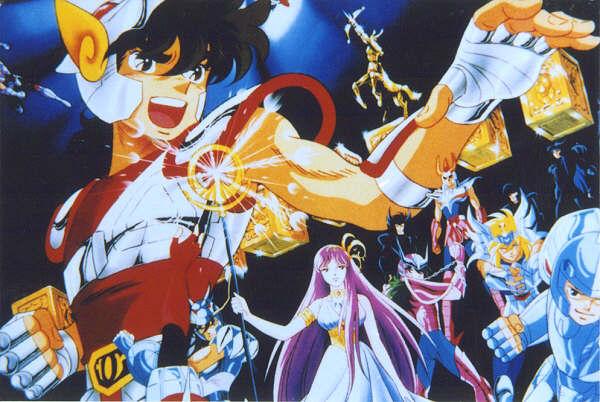 Los Caballeros Del Zodiaco (Saint Seiya) El Santuario - Torneo Galactico